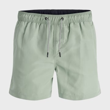 Jack And Jones - Short De Bain Aruba 12166349 Vert Kaki