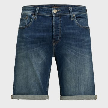 Jack And Jones - Short Jean Rick Original 12166863 Bleu Denim