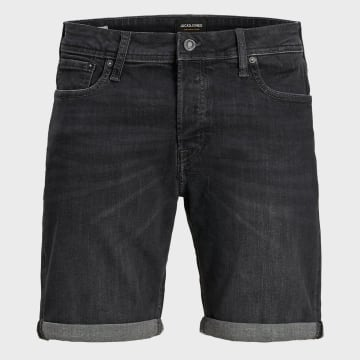 Jack And Jones - Short Jean Rick Original 12170404 Noir