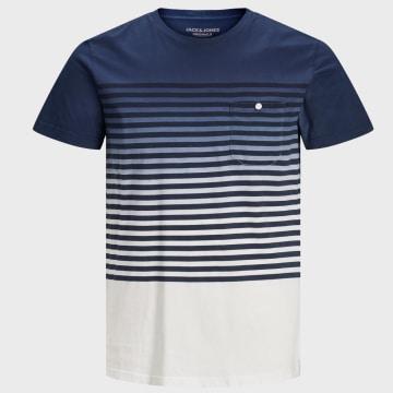 Jack And Jones - Tee Shirt Poche Grade 12169782 Dégradé Bleu Marine