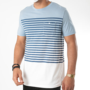 Jack And Jones - Tee Shirt Poche Grade 12169782 Dégradé Bleu