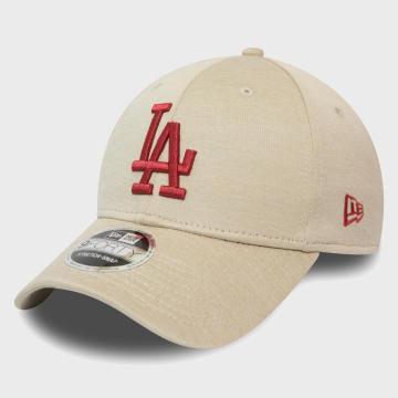 New Era - Casquette 9Forty League Essential 12381135 Los Angeles Dodgers Beige