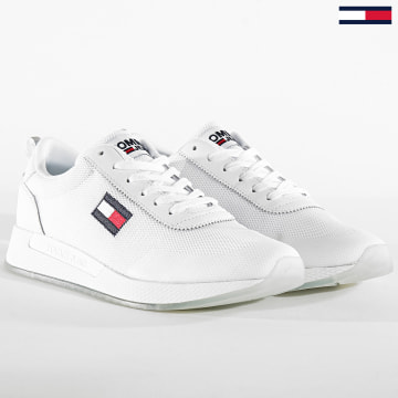 Tommy Jeans - Baskets Flexi Runner 0490 White