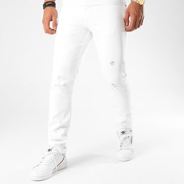 Celio - Jean Slim Rowhite 25 Blanc