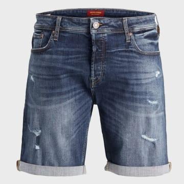 Jack And Jones - Short Jean Rick Original 12166864 Bleu Denim