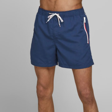 Jack And Jones - Short De Bain Aruba 12174096 Bleu Marine