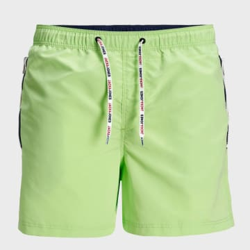 Jack And Jones - Short De Bain Aruba 12174096 Vert