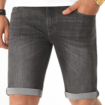 Jack And Jones - Short Jean Liam Original 12171211 Noir