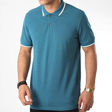 Produkt - Polo Manches Courtes Micro 12171332 Bleu Turquoise