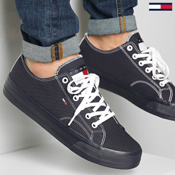 Tommy Jeans - Baskets Long Lace Up 0486 Twilight Navy