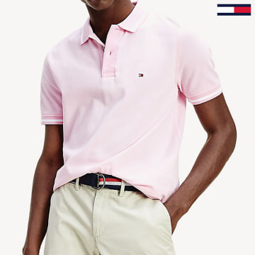 Tommy Hilfiger - Polo Manches Courtes Basic Tipped 0768 Rose