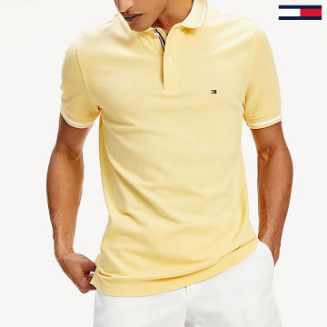 Tommy Hilfiger - Polo Manches Courtes Basic Tipped 0768 Jaune