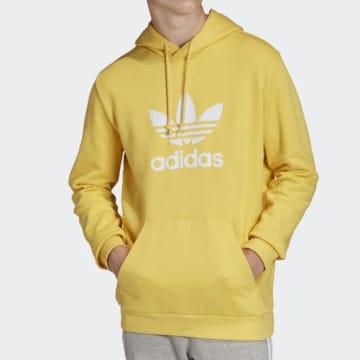 Adidas Originals - Sweat Capuche Trefoil FM3785 Jaune