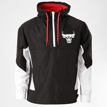 New Era - Coupe-Vent Col Zippé NBA Chicago Bulls 12369776 Noir