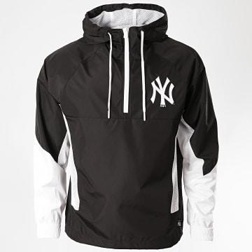 New Era - Coupe-Vent Capuche Col Zippé 12369837 New York Yankees Noir