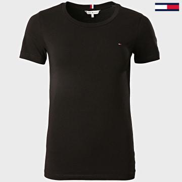 Tommy Hilfiger - Tee Shirt Femme Essential 6739 Noir