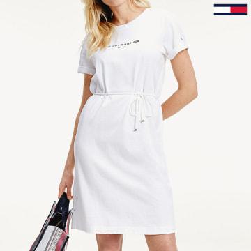 Tommy Hilfiger - Robe Femme 8189 Blanc