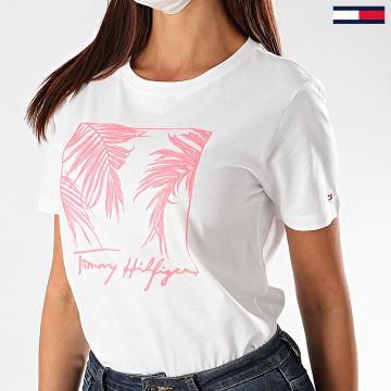 Tommy Hilfiger - Tee Shirt Femme Brigit 8476 Blanc