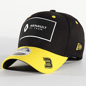 New Era - Casquette Renault 950 Stretch 12483666 Noir Jaune