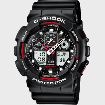 Casio - Montre G-Shock GA-100-1A4ER Noir