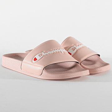 Champion - Claquettes Femme Slide Varsity S10970 Pink