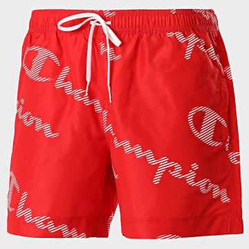 Champion - Short De Bain 214445 Rouge