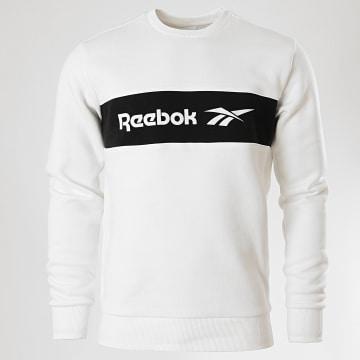Reebok - Sweat Crewneck Classic Linear FN2822 Blanc