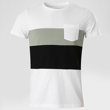 Tom Tailor - Tee Shirt Poche 1018863-XX-12 Blanc