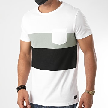 Tom Tailor - Tee Shirt Poche 1018863-XX-12 Blanc