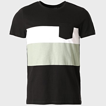 Tom Tailor - Tee Shirt Poche 1018863-XX-12 Noir