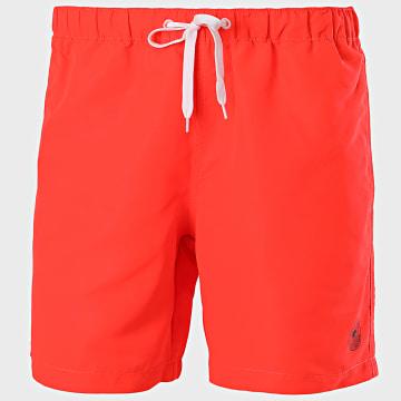 Tom Tailor - Short De Bain 1016510-XX-10 Orange Fluo