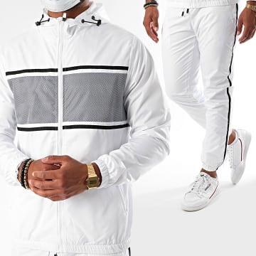 Zayne Paris  - Ensemble De Survêtement TX-508 Blanc
