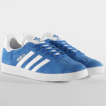 Adidas Originals - Baskets Gazelle EF5600 Blue Cloud White Gold Metallic