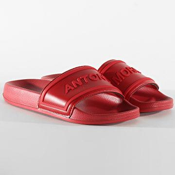 Antony Morato - Claquettes Scarpe MMFW01256 Rouge