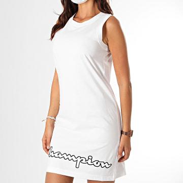 Champion - Robe Femme 112657 Blanc