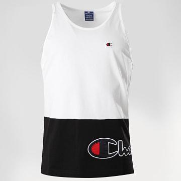 Champion - Débardeur 214209 Blanc Noir