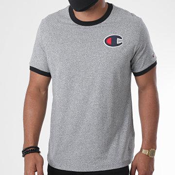 Champion - Tee Shirt 214681 Gris Chiné