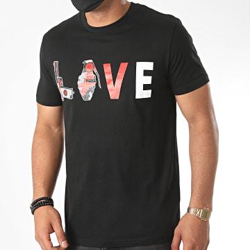 Jeune Riche - Tee Shirt New Love Noir