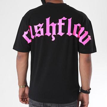 Jeune Riche - Tee Shirt Cashflow Noir Rose