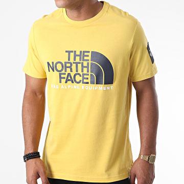 The North Face - Tee Shirt Fine Alp 2 M6NZ Jaune