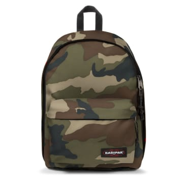 Eastpak - Sac A Dos Camouflage Out Of Office Vert Kaki