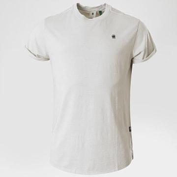 G-Star - Tee Shirt Oversize Lash D16396 Gris Clair