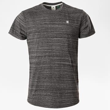 G-Star - Tee Shirt Oversize Lash D16396 Gris Anthracite Chiné