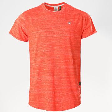 G-Star - Tee Shirt Oversize Lash D16396 Orange Chiné