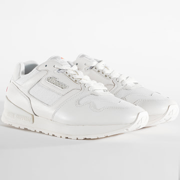 Ellesse - Baskets 613585 Leather White White White