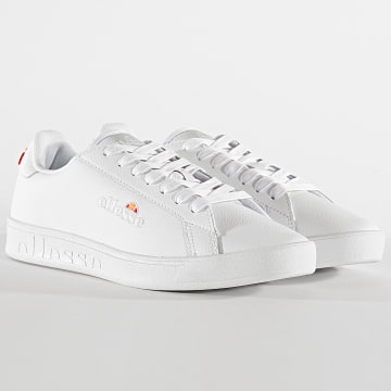 Ellesse - Baskets Femme Campo Emb Leather 613604 White