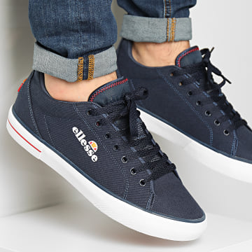 Ellesse - Baskets Taggia Text 613661 Dark Blue Red White