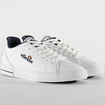 Ellesse - Baskets Taggia Leather AM 613659 White Dark Blue