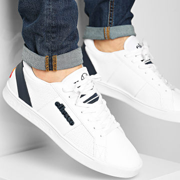 Ellesse - Baskets LS 80 Leather 610356 White Dark Blue