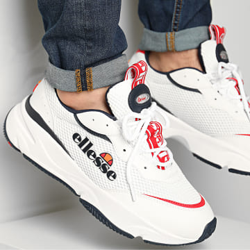 Ellesse - Baskets Massello Synt 613612 White Red Dark Blue